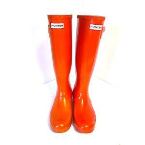 Hunter Boots Red Original Gloss Tall